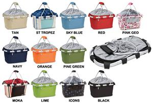 Picnic Time Lightweight Insulated Metro Basket