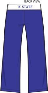 Kansas State Womens Crop Yoga Pants