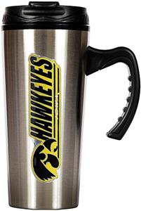 NCAA Iowa Hawkeyes 16oz Travel Mug