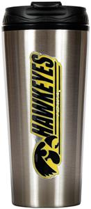 NCAA Iowa Hawkeyes 16oz Travel Tumbler