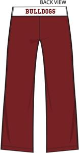Mississippi State Womens Crop Yoga Pants