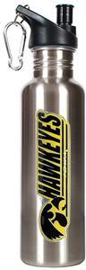 NCAA Iowa Hawkeyes Stainless Water Bottle