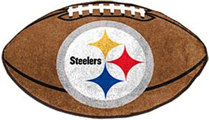Fan Mats Pittsburgh Steelers Football Mat