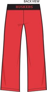 Nebraska Cornhuskers Womens Crop Yoga Pants