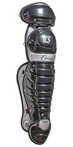 Champion Age 12-16 Double Knee Baseball Shinguards