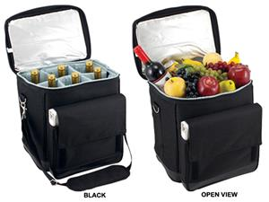 Picnic Time Cellar Insulated 6-Bottle Wine Carrier