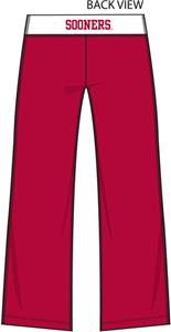 Oklahoma Sooners Womens Crop Yoga Pants