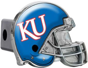 NCAA Kansas Jayhawks Helmet Trailer Hitch Cover