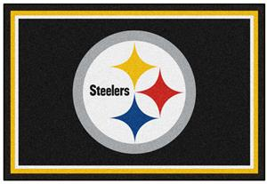Fan Mats NFL Pittsburgh Steelers 5x8 Rug
