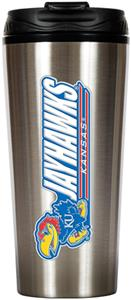 NCAA Kansas Jayhawks 16oz Travel Tumbler