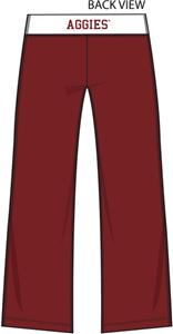 Texas A&M Aggies Womens Crop Yoga Pants