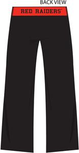 Texas Tech Womens Crop Yoga Pants