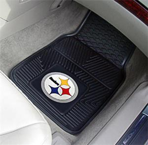 Fan Mats Pittsburgh Steelers Vinyl Car Mats (set)