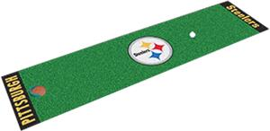 Fan Mats Pittsburgh Steelers Putting Green Mat