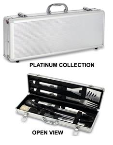Picnic Time Fiero BBQ Case &amp; Stainless Steel Tools