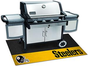 Fan Mats Pittsburgh Steelers Grill Mat