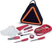 Picnic Time Triangle-Shaped Roadside Emergency Kit