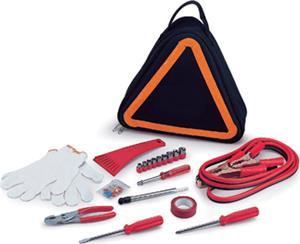 Picnic Time Triangle-Shaped Roadside Emergency Kit