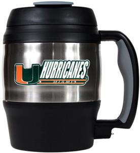 NCAA Miami Hurricanes 52oz Macho Travel Mug