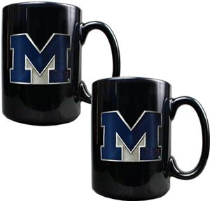 NCAA Michigan Wolverines Ceramic Mug (Set of 2)