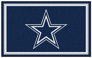 Fan Mats NFL Dallas Cowboys 4x6 Rug