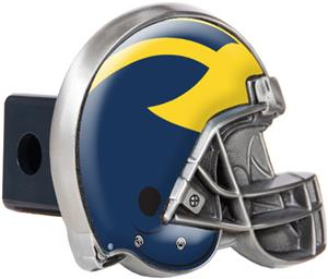 NCAA Michigan Helmet Trailer Hitch Cover