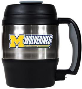 NCAA Michigan Wolverines 52oz Macho Travel Mug