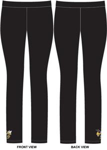 Georgia Tech Womens Spandex Leggings