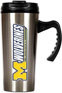 NCAA Michigan Wolverines 16oz Travel Mug