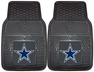 Fan Mats Dallas Cowboys Vinyl Car Mat Set