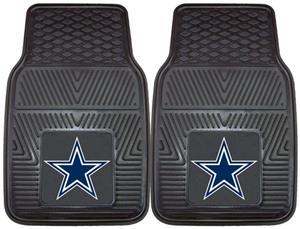 Fan Mats Dallas Cowboys Vinyl Car Mat Set