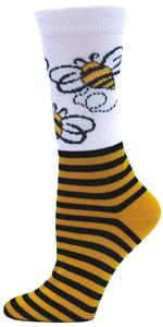 Red Lion The Bee Athletic Crew Socks