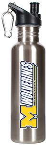 NCAA Michigan Wolverines Stainless Water Bottle