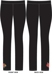 Louisville Cardinals Womens Spandex Leggings