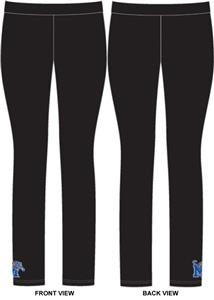 Memphis Tigers Womens Spandex Leggings