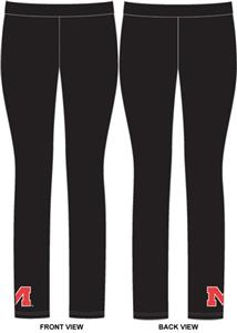 Mississippi Rebels Womens Spandex Leggings