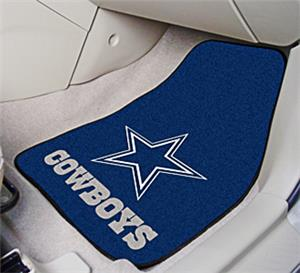 Fan Mats Dallas Cowboys Carpet Car Mats
