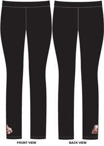Mississippi State Womens Spandex Leggings