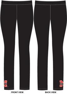 Nebraska Cornhuskers Womens Spandex Leggings