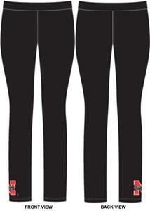 Nebraska Cornhuskers Womens Spandex Leggings