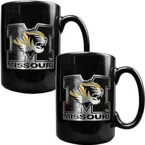 NCAA Missouri Tigers Ceramic Mug (Set of 2)