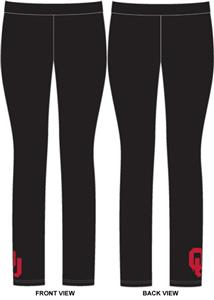 Oklahoma Sooners Womens Spandex Leggings