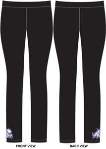 TCU Texas Christian Womens Spandex Leggings