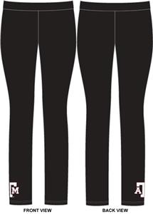 Texas A&M Aggies Womens Spandex Leggings