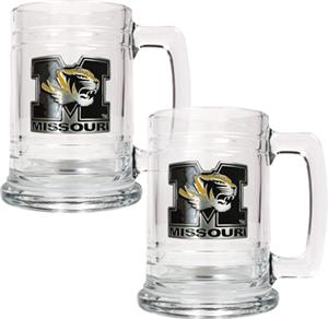 NCAA Missouri Tigers 15oz Glass Tankard