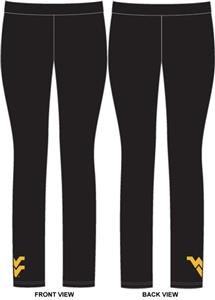 West Virginia Womens Spandex Leggings