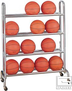 Gared 4 Tier Basketball Racks