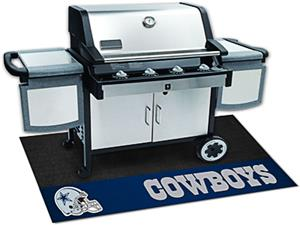Fan Mats Dallas Cowboys Grill Mat