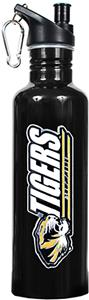 NCAA Missouri Tigers Black Water Bottle
