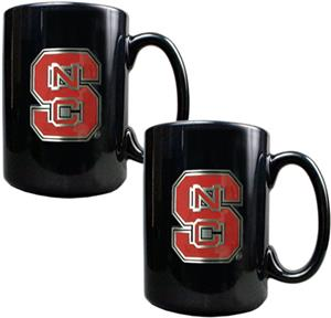 NCAA N.C. State Ceramic Mug (Set of 2)